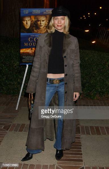 Laurie Holden during The Words and Music of 'Cold Mountain' at Royce Hall in Westwood California United States
