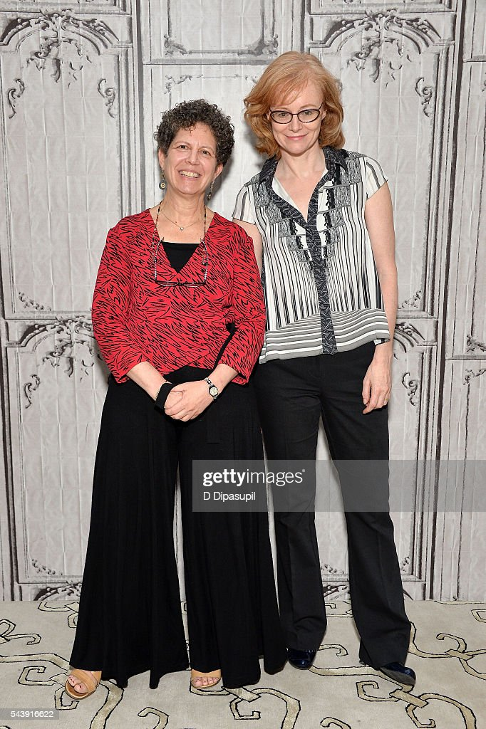 Laurie Kahn (L) and Eloisa James attend the AOL Build Speaker Series to discuss the documentary 'Love Between the Covers' at AOL Studios In New York on June 30, 2016 in New York City.