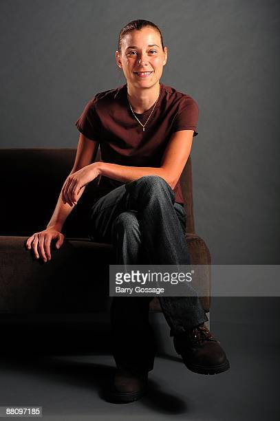 Laurie Koehn of the Phoenix Mercury poses for a portrait during WNBA Media Day on May 19 2009 at US Airways Center in Phoenix Arizona NOTE TO USER...