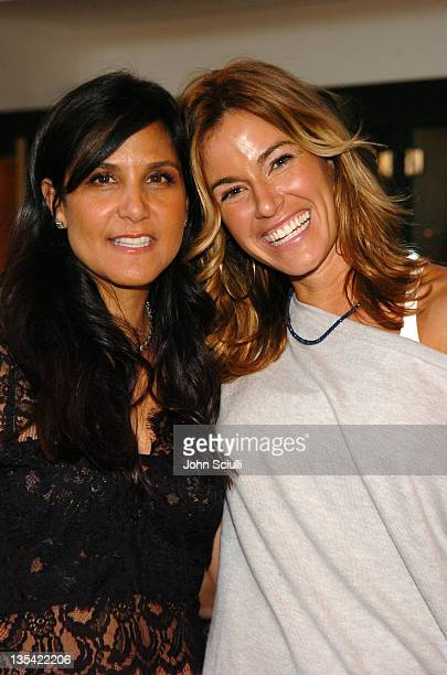 Laurie Lynn Stark and Kelly Killoren Bensimon during Laurie Stark of Chrome Hearts Hosts a High Tea in Celebration of Kelly Killoren Bensimon's New...