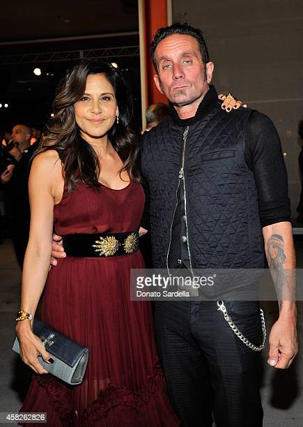Laurie Lynn Stark and Richard Stark attend the 2014 LACMA Art Film Gala honoring Barbara Kruger and Quentin Tarantino presented by Gucci at LACMA on...