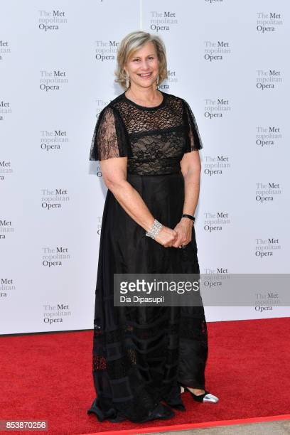 Laurie M Tisch attends the 2017 Metropolitan Opera Opening Night at The Metropolitan Opera House on September 25 2017 in New York City