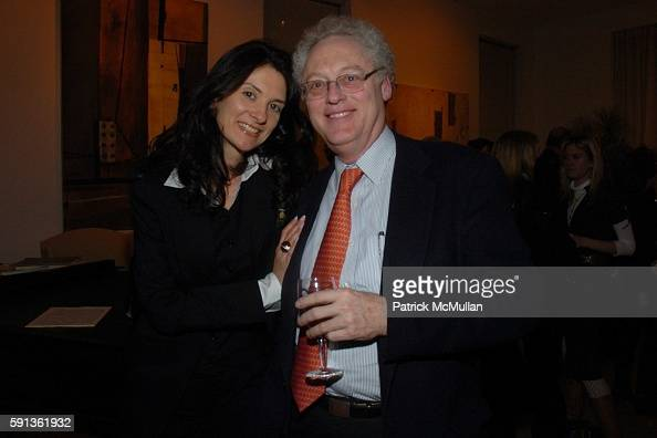 Laurie Sanderson and Bob Heckart attend The Chamber Music Society of Lincoln Center Young Patrons Event with Music Art and More at The Caio Fonseca...