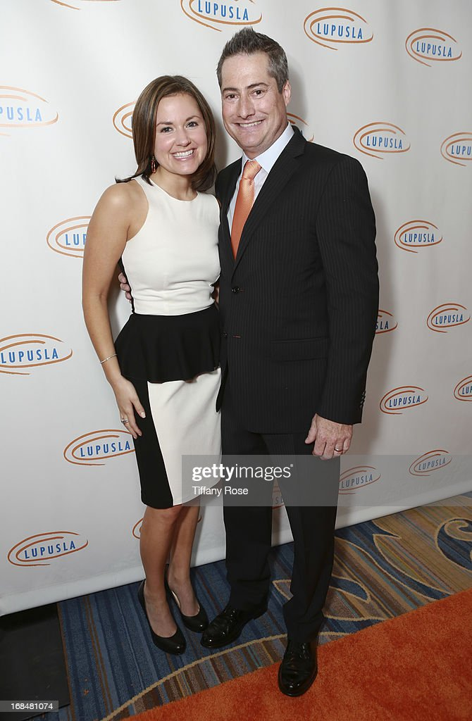 Laurie Selkowitz and Chairman of Lupus LA Adam Selkowitz attend Lupus LA Orange Ball at the Beverly Wilshire Four Seasons Hotel on May 9, 2013 in Beverly Hills, California.