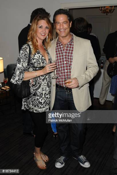 Laurie Sompress and Adam Shift attend Bret Easton Ellis to celebrate the publication of his new novel IMPERIAL BEDROOMS at Penthouse on June 10 2010...