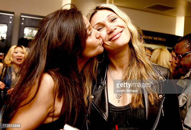 Laurie Stark and Christina Sands during Grand Opening of Optical Shop of Aspen in Malibu March 15 2007 at Optical Shop of Aspen in Malibu California...