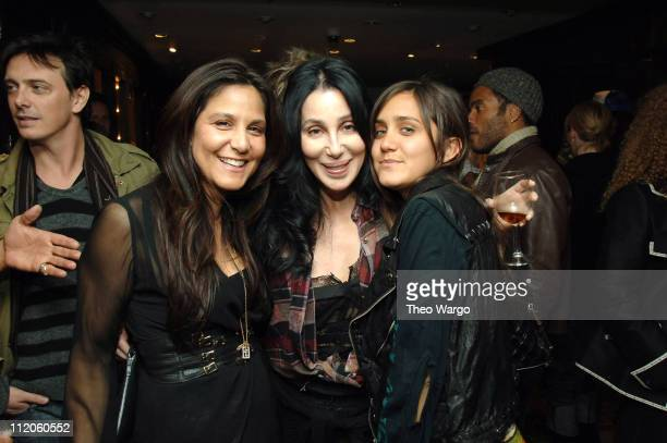 Laurie Stark Cher and Jesse Joe Stark during Chrome Hearts Impromptu Family Party at Chrome Hearts NYC in New York City New York United States