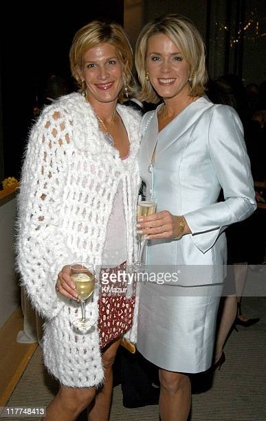 Laurie Sykes and Deborah Norville during Central Park Conservancy hosts 150th Anniversary of the Park at Mandarin Oriental Hotel in New York City New...