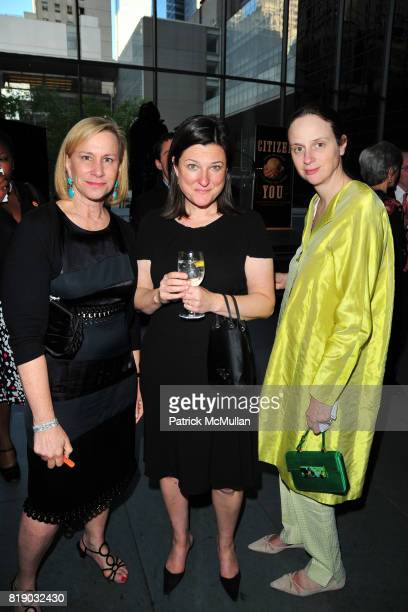 Laurie Tisch Amy Bell and Alexandra Kotur attend JONATHAN TISCH 'Citizen You' Book Launch Party at The Museum of Modern Art on May 6 2010 in New York...