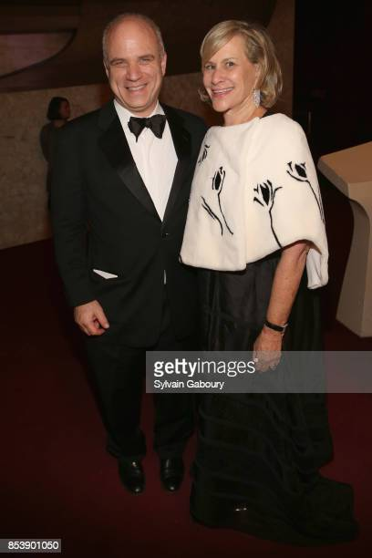 Laurie Tisch attends Metropolitan Opera Opening Night Gala at Lincoln Center on September 25 2017 in New York City