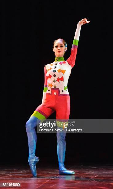 Laurretta Summerscales performs during the dress rehearsal for the English National Ballet's Emerging Dancer competition at the Queen Elizabeth Hall...