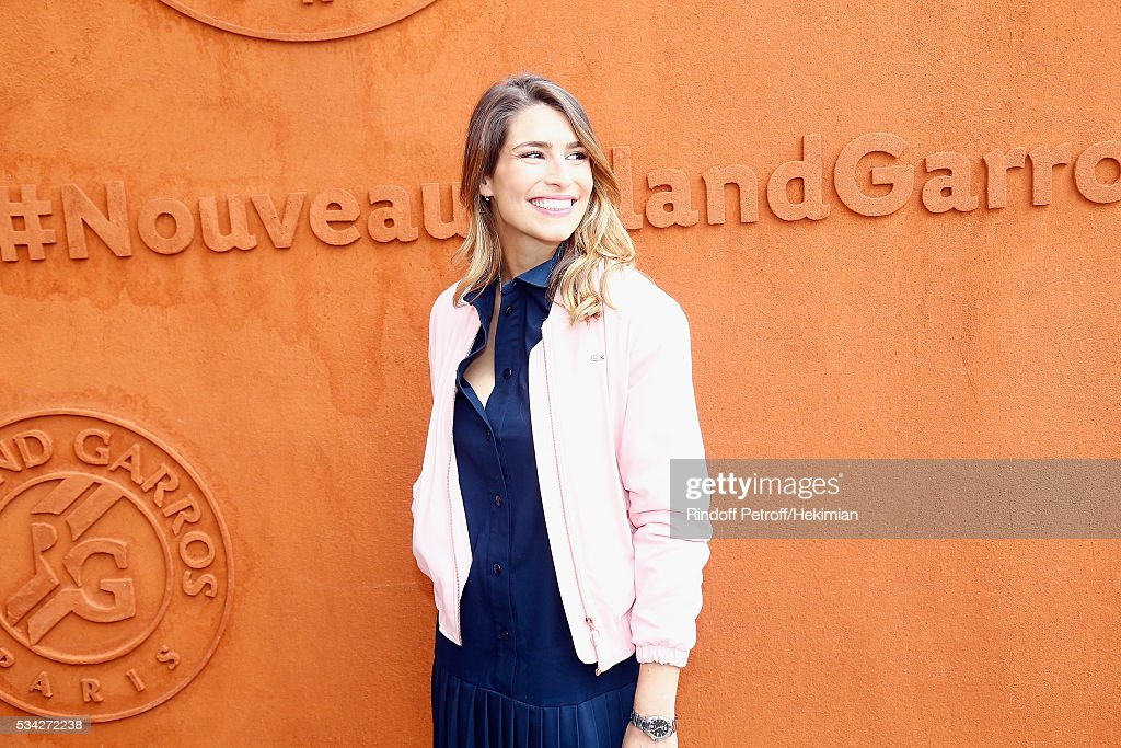 <a gi-track='captionPersonalityLinkClicked' href=/galleries/search?phrase=Laury+Thilleman&family=editorial&specificpeople=7372762 ng-click='$event.stopPropagation()'>Laury Thilleman</a> attends day four of the French Tennis Open at Roland Garros on May 25, 2016 in Paris, France.