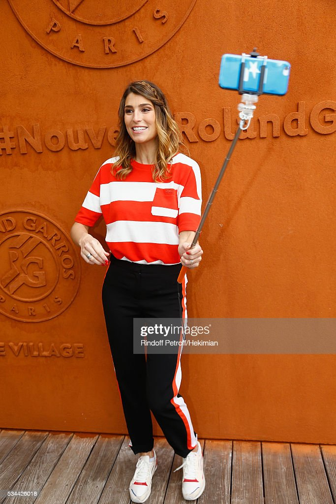 <a gi-track='captionPersonalityLinkClicked' href=/galleries/search?phrase=Laury+Thilleman&family=editorial&specificpeople=7372762 ng-click='$event.stopPropagation()'>Laury Thilleman</a> attends the French Tennis Open Day Five at Roland Garros on May 26, 2016 in Paris, France.