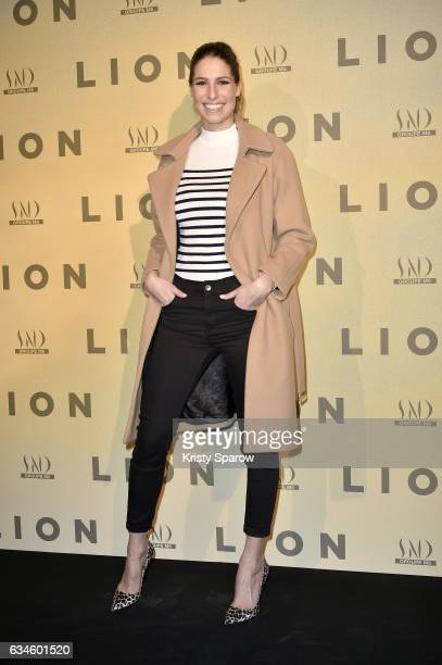 Laury Thilleman attends the 'Lion' Paris Premiere at Cinema Gaumont Opera on February 10 2017 in Paris France