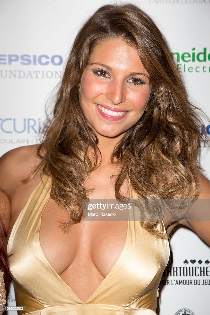 <a gi-track='captionPersonalityLinkClicked' href=/galleries/search?phrase=Laury+Thilleman&family=editorial&specificpeople=7372762 ng-click='$event.stopPropagation()'>Laury Thilleman</a> attends the 'Planet Finance' dinner photocall at the 'Carlton' hotel during the 66th annual Cannes Film Festival on May 16, 2013 in Cannes, France.