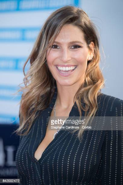 Laury Thilleman attends the Tribute to Robert Pattinson and 'Good Time' Premiere during the 43rd Deauville American Film Festival on September 2 2017...