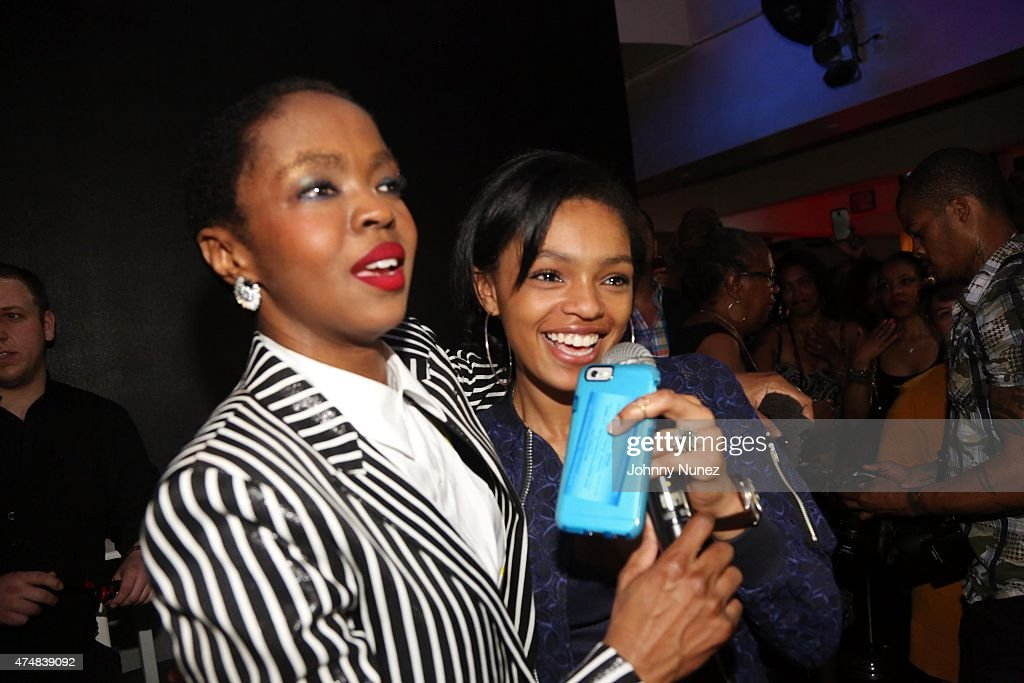 Lauryn Hill and her daughter Selah Marley celebrate Lauryn Hill 's ...