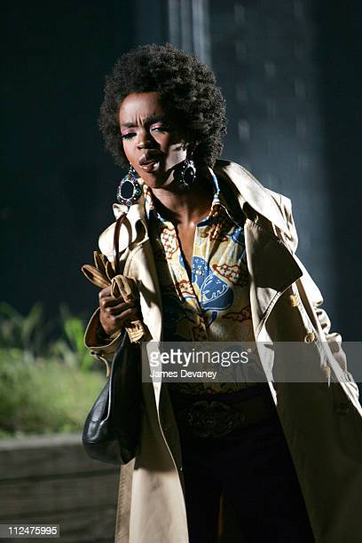 Lauryn Hill during Lauryn Hill Video Shoot at Meatpacking District in New York City New York United States