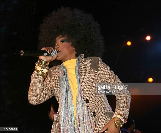 Lauryn Hill of the Fugees during The Fugees in Concert at Carling Apollo Hammersmith in London December 14 2005 at Carling Apollo Hammersmith in...