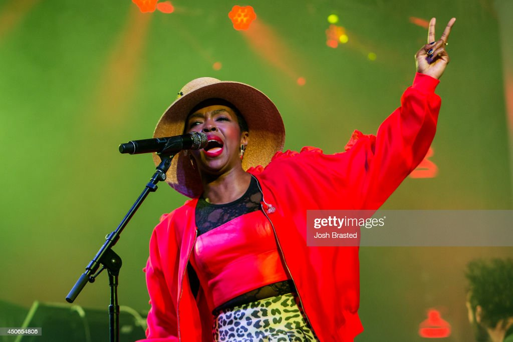 Lauryn Hill performs during the 2014 Bonnaroo Music & Arts Festival on June 14, 2014 in Manchester, Tennessee.