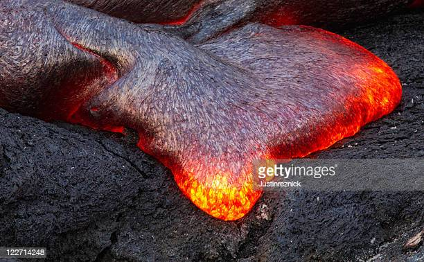 Lava-Detailarbeit