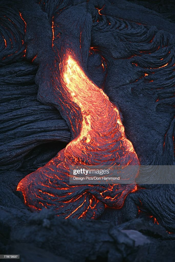 Lava flow : Stock Photo