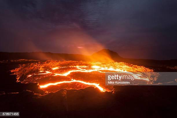 Lava lake, Erta Ale volcano