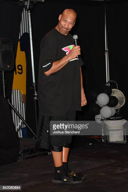 LaVar Ball attends Melo Ball's 16th Birthday on September 2 2017 in Chino California