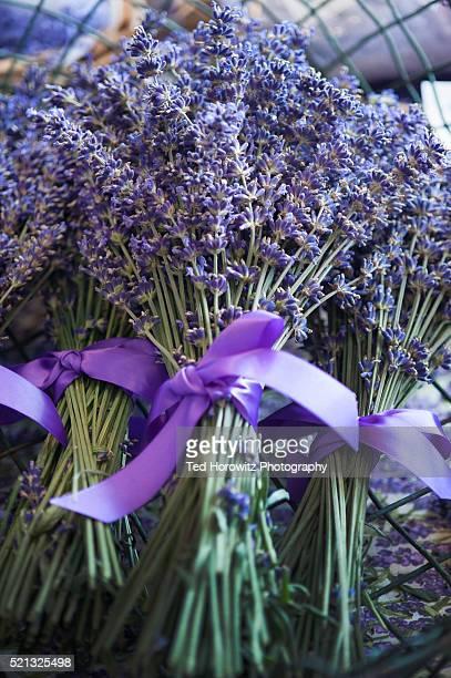 Lavender bouquet, Pike Place Market, Seattle