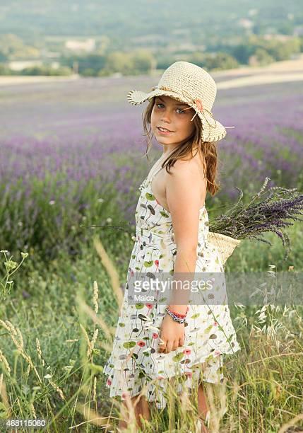 Lavendel-Mädchen