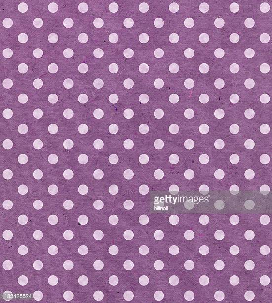 Lavanda carta con punti
