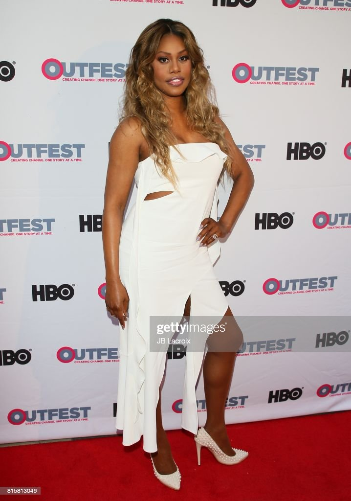 Lavern Cox attends the 2017 Outfest Los Angeles LGBT Film Festival - Closing Night Gala Screening Of ''Freak Show' on July 16, 2017 in Los Angeles, California.