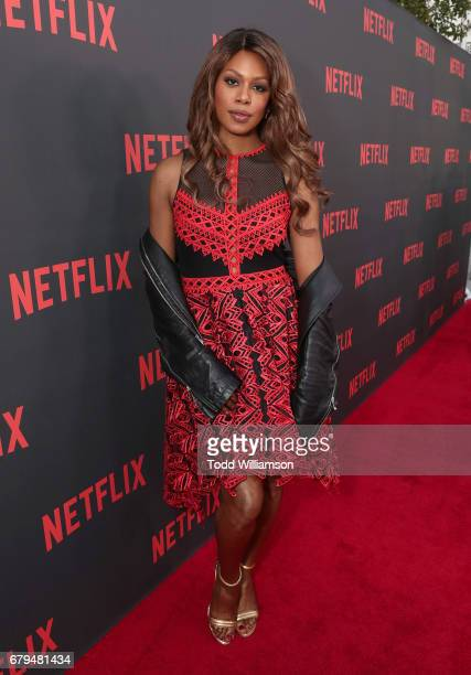 Laverne Cox attends a Netflix's 'Orange Is The New Black' For Your Consideration Event at Saban Media Center on May 5 2017 in North Hollywood...