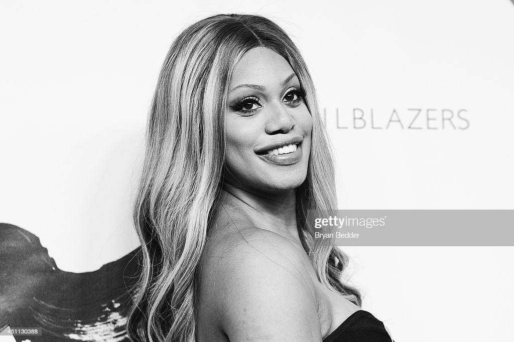 <a gi-track='captionPersonalityLinkClicked' href=/galleries/search?phrase=Laverne+Cox&family=editorial&specificpeople=5848606 ng-click='$event.stopPropagation()'>Laverne Cox</a> attends Logo TV's 'Trailblazers' at the Cathedral of St. John the Divine on June 23, 2014 in New York City.