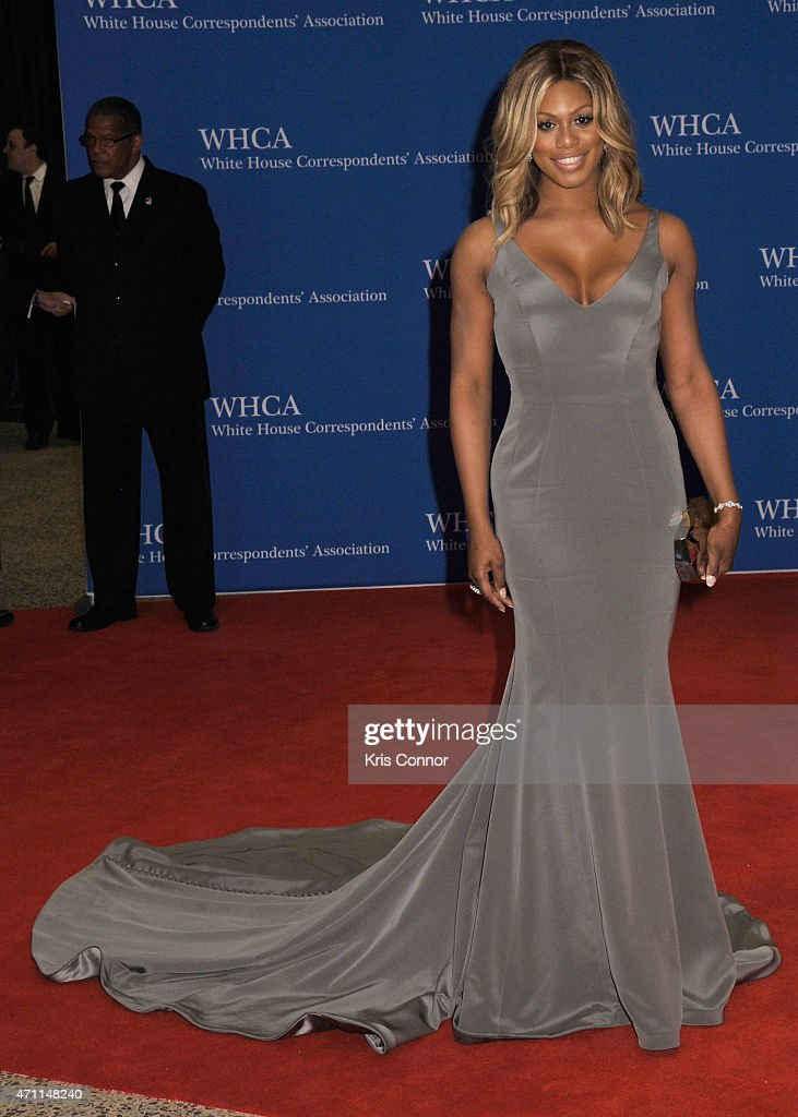 Laverne Cox attends the 101st Annual White House Correspondents' Association Dinner at the Washington Hilton on April 25, 2015 in Washington, DC.