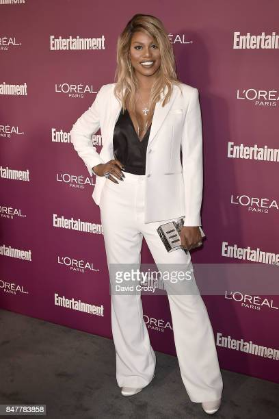 Laverne Cox attends the 2017 Entertainment Weekly PreEmmy Party Arrivals at Sunset Tower on September 15 2017 in West Hollywood California