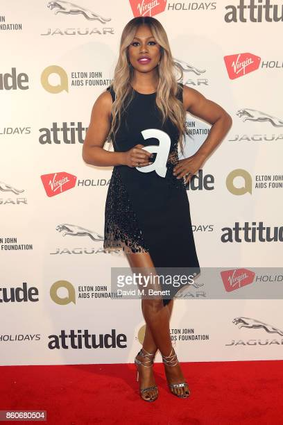 Laverne Cox attends the Attitude Awards 2017 at The Roundhouse on October 12 2017 in London England