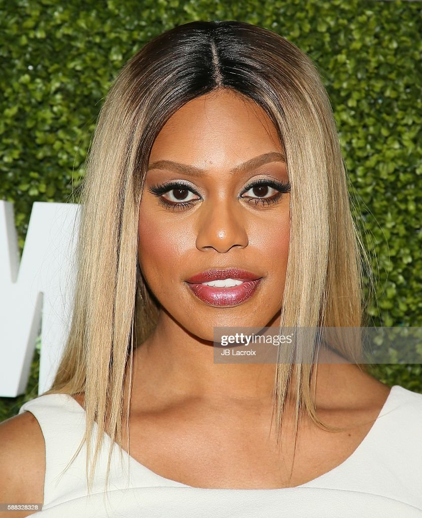 Laverne Cox attends the CBS, CW, Showtime Summer TCA Party at Pacific Design Center on August 10, 2016 in West Hollywood, California.
