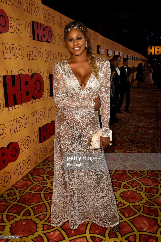 Laverne Cox attends the HBO's Official 2017 Emmy After Party at The Plaza at the Pacific Design Center on September 17, 2017 in Los Angeles, California.
