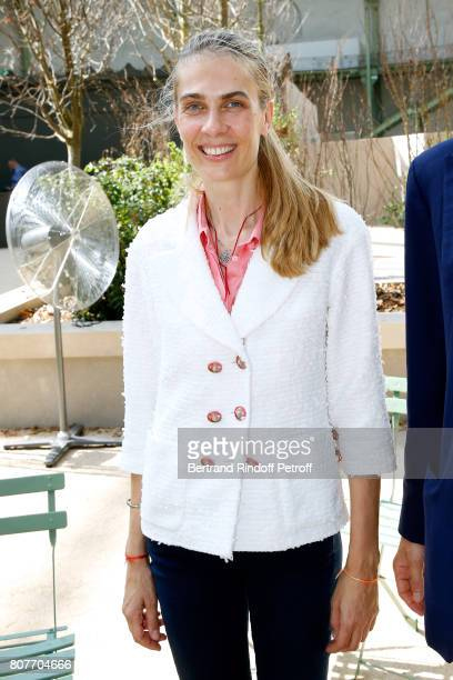 Lavinia Borromeo attends the Chanel Haute Couture Fall/Winter 20172018 show as part of Haute Couture Paris Fashion Week on July 4 2017 in Paris France