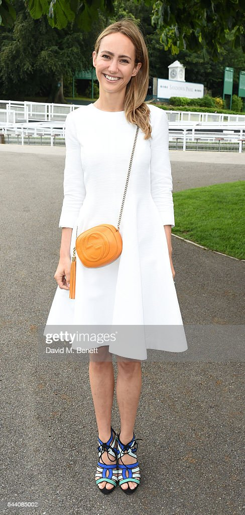 Lavinia Brennan attends the Sandown Park Racecourse Ladies' Day STYLE AWARD Hosted by Rosie Fortescue at Sandown Park on July 1, 2016 in Esher, England.