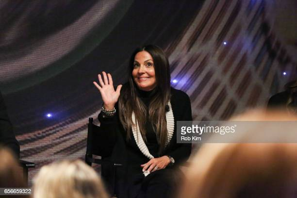Lavinia Errico attends the Female Bosses celebration and BOSS BITCH book launch and interactive panel event at The Core Club on March 22 2017 in New...