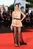 Lavinia Guglielman attends the 'Three Hearts' Premiere during the 71st Venice Film Festival on August 30 2014 in Venice Italy