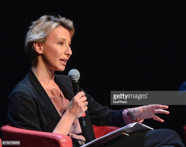 Lavinia Spingardi during presentation of the book 'Quando' by Walter Veltroni at Auditorium Rome on november 16 2017