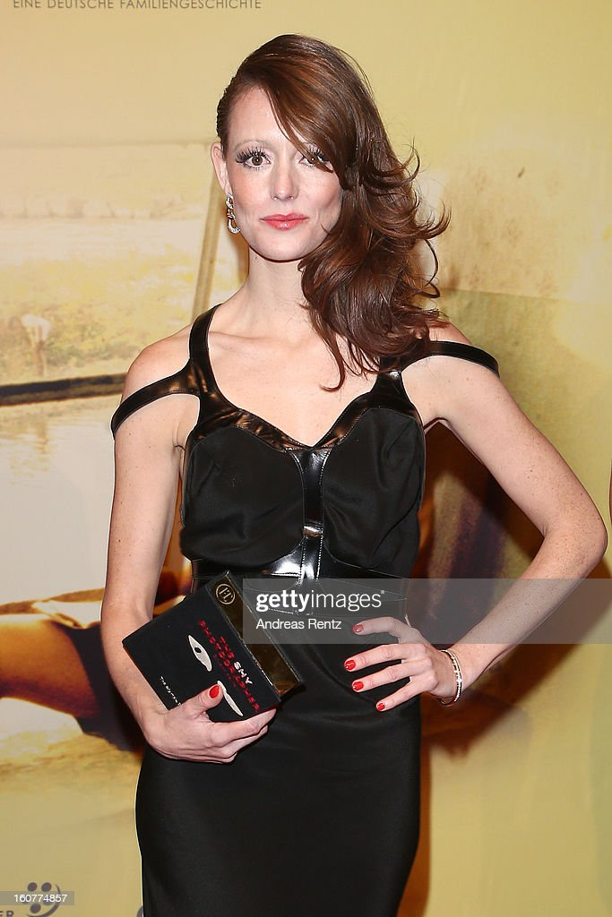 Lavinia Wilson attends 'Quelle des Lebens' Germany Premiere at Delphi Filmpalast on February 5, 2013 in Berlin, Germany.
