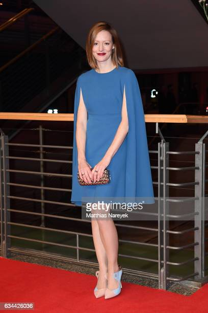 Lavinia Wilson attends the 'Django' premiere during the 67th Berlinale International Film Festival Berlin at Berlinale Palace on February 9 2017 in...