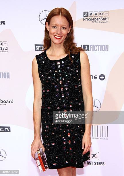 Lavinia Wilson attends the First Steps Awards 2015 at Stage Theater on September 14 2015 in Berlin Germany