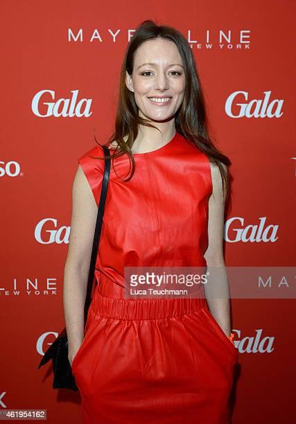 Lavinia Wilson attends the GALA Fashion Brunch at Ellington Hotel on January 22 2015 in Berlin Germany