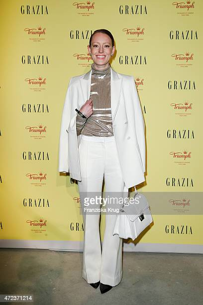 Lavinia Wilson attends the GRAZIA Best Inspiration Award 2015 on May 06 2015 in Berlin Germany