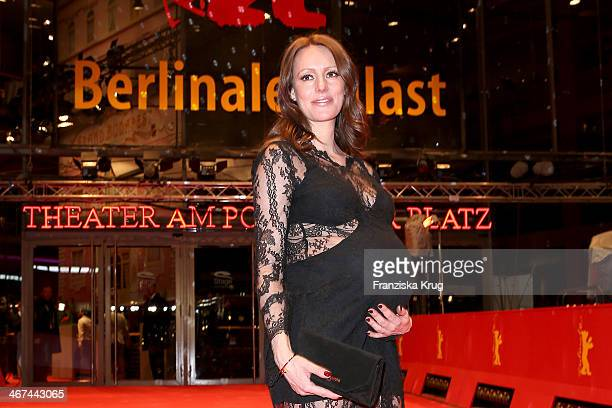 Lavinia Wilson attends the Opening Party 64th Berlinale International Film Festival at Berlinale Palast on February 06 2014 in Berlin Germany
